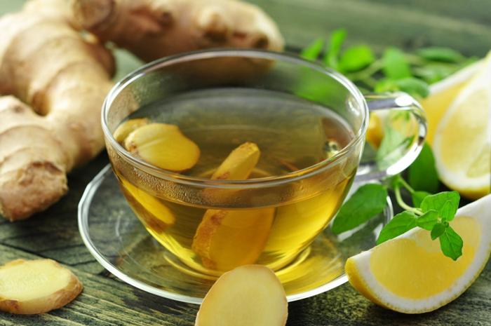 Gừng, chanh tươi hoặc trà xanh là những cách chữa hôi miệng hiệu quả