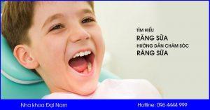 tìm hiểu về răng sữa và cách chăm sóc