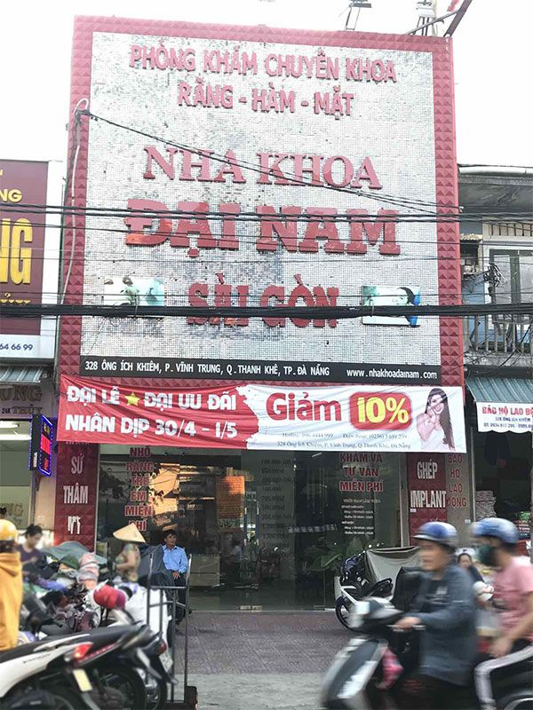 Nha khoa Đại Nam Sài Gòn tại Đà Nẵng
