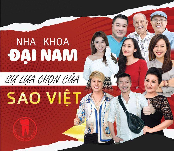 Nha khoa Đại Nam sự lựa chọn của Sao Việt