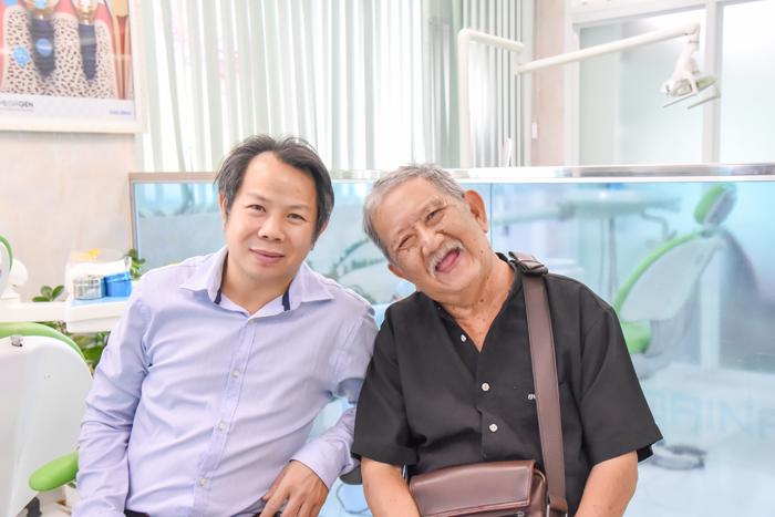 Nghệ sĩ Mạc Can và Bác sĩ Hồ Ngọc Tiên Trung
