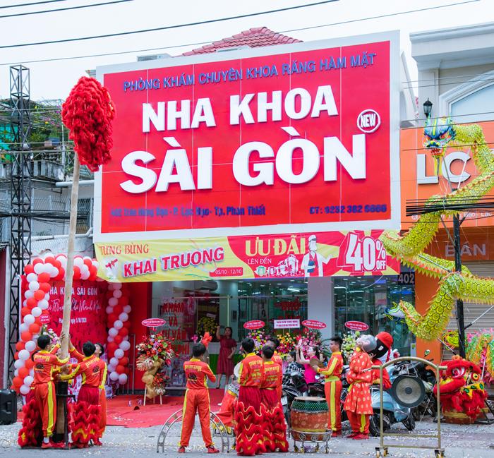Nha Khoa Sài Gòn chi nhánh thứ 3 tại Phan Thiết, cũng là chi nhánh thứ 33 của hệ thống Nha Khoa Đại Nam