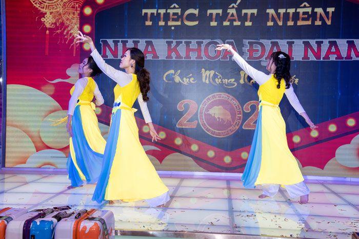 Tiết mục múa đến từ Đại Nam 6 giành giải nhất của cuộc thi văn nghệ