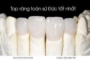 top răng toàn sứ tốt nhất